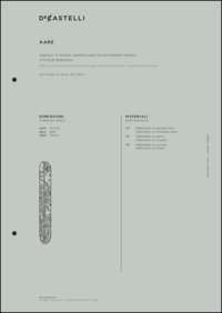 Aare Wall Lamp Data Sheet