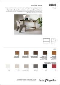 Abaco Desk Data Sheet