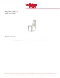 Agatha Flex Dining Chair Data Sheet