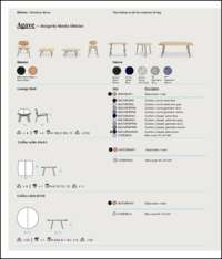 Agave Dining Chair Data Sheet