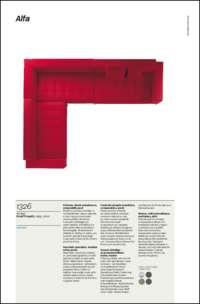 Alfa Sofa Data Sheet