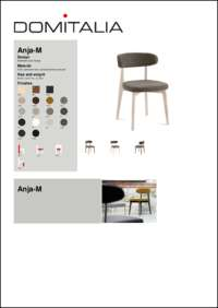 Anja M Chair Data Sheet