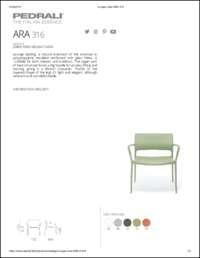 Ara Lounge 316 Data Sheet