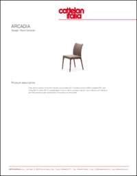 Arcadia Dining Chair Data Sheet