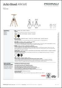 Arki Stool Data Sheet