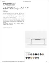 Arki Table Data Sheet
