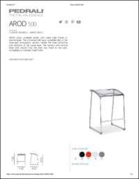 Arod Fixed Data Sheet