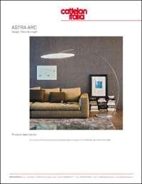 Astra Arc Floor Lamp Data Sheet