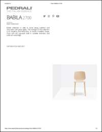 Babila 2700 Data Sheet