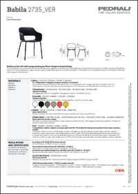 Babila 2735 Data Sheet