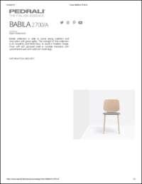 Babila Soft 2700A Data Sheet
