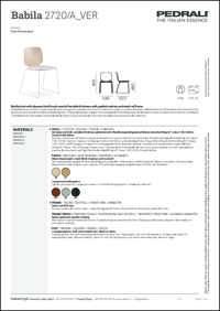 Babila Soft 2720A Data Sheet