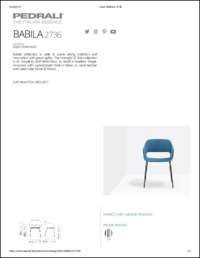 Babila Soft 2736 Data Sheet