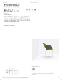Babila Soft 2746 Data Sheet