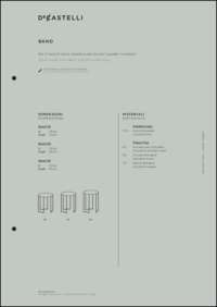 Band Table Data Sheet