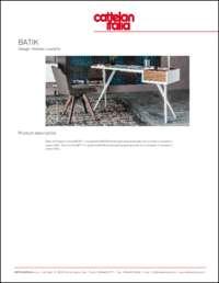 Batik Desk Data Sheet