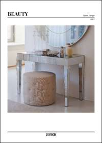 Beauty Console Table Data Sheet