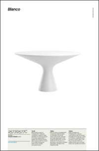 Blanco Dining Table Data Sheet