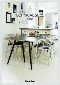 Blend Indoor Armchair Data Sheet