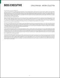 Boss Executive Round Data Sheet