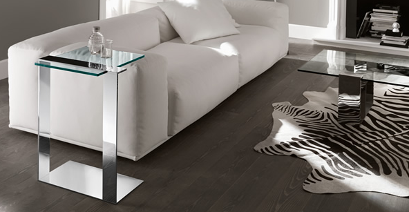 Joliet Side Table from Tonelli