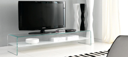 Glass TV Units