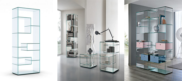 Liber bookcases by Tonelli