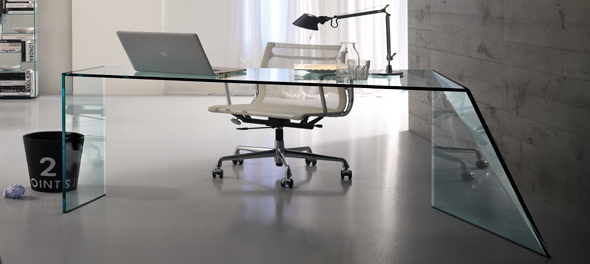 Penrose Desk by Isao Hosoe for Tonelli