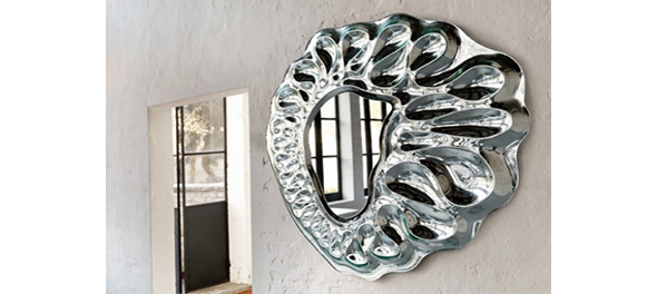 Caldeira - Wall Mirror from Fiam
