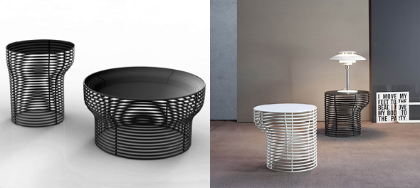 Orion - Coffee Table/End Table by Bonaldo