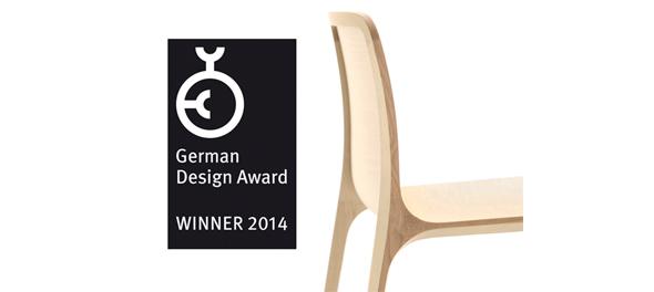 Pedrali Frida chair wins German Design Award 2014