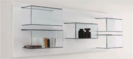 Bent Glass Storage