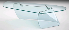 Bent Glass Desks