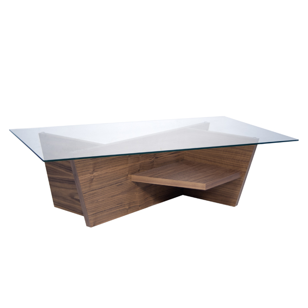 Temahome Olivia Coffee Coffee Tables Rectangular Top Wooden Glass Olivia Coffee Ultra