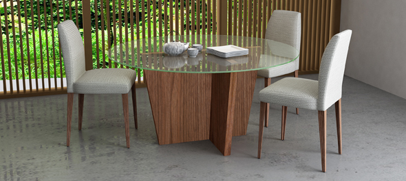Olivia Dining Table by TemaHome