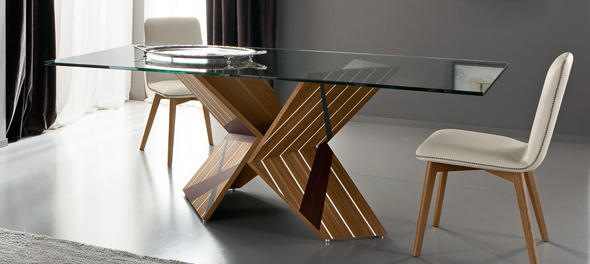 Tratto Table by Rossetto