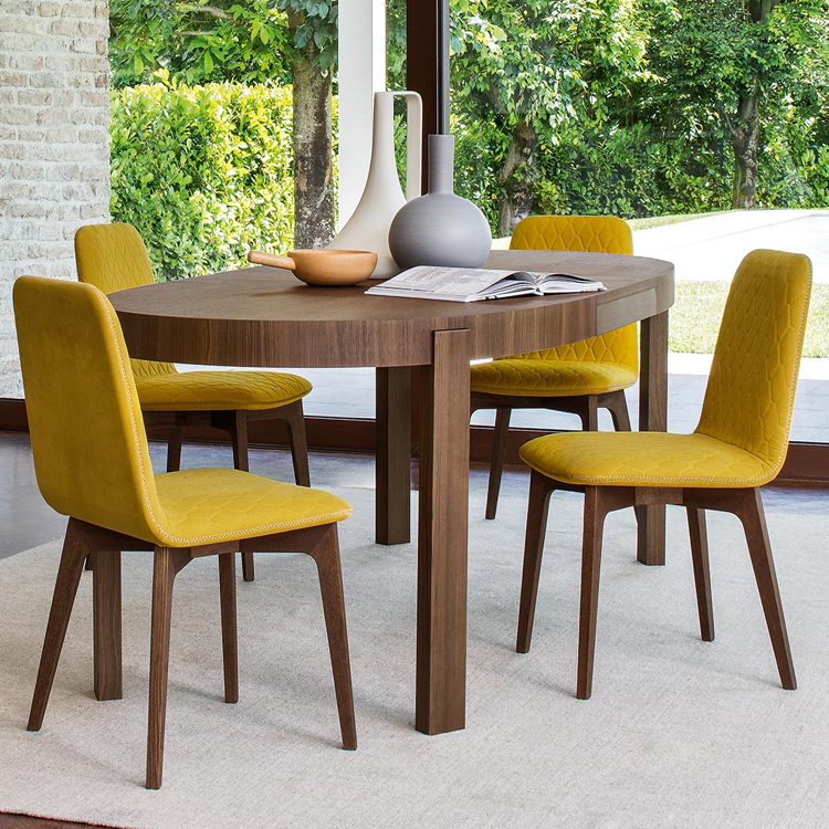 sami is a new chair from calligaris characterized by the quilted seat