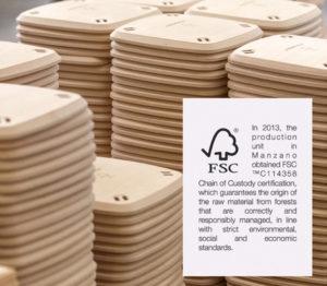Pedrali FSC certification