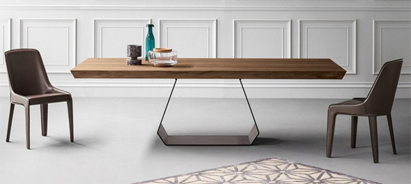 amond dining table by bonaldo - Modern Contemporary Dining Table