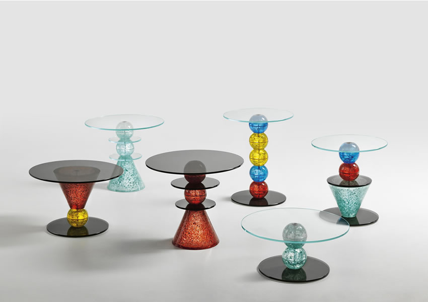Tonelli's 'Wonderland': Transforming Glass Fragments to Tables