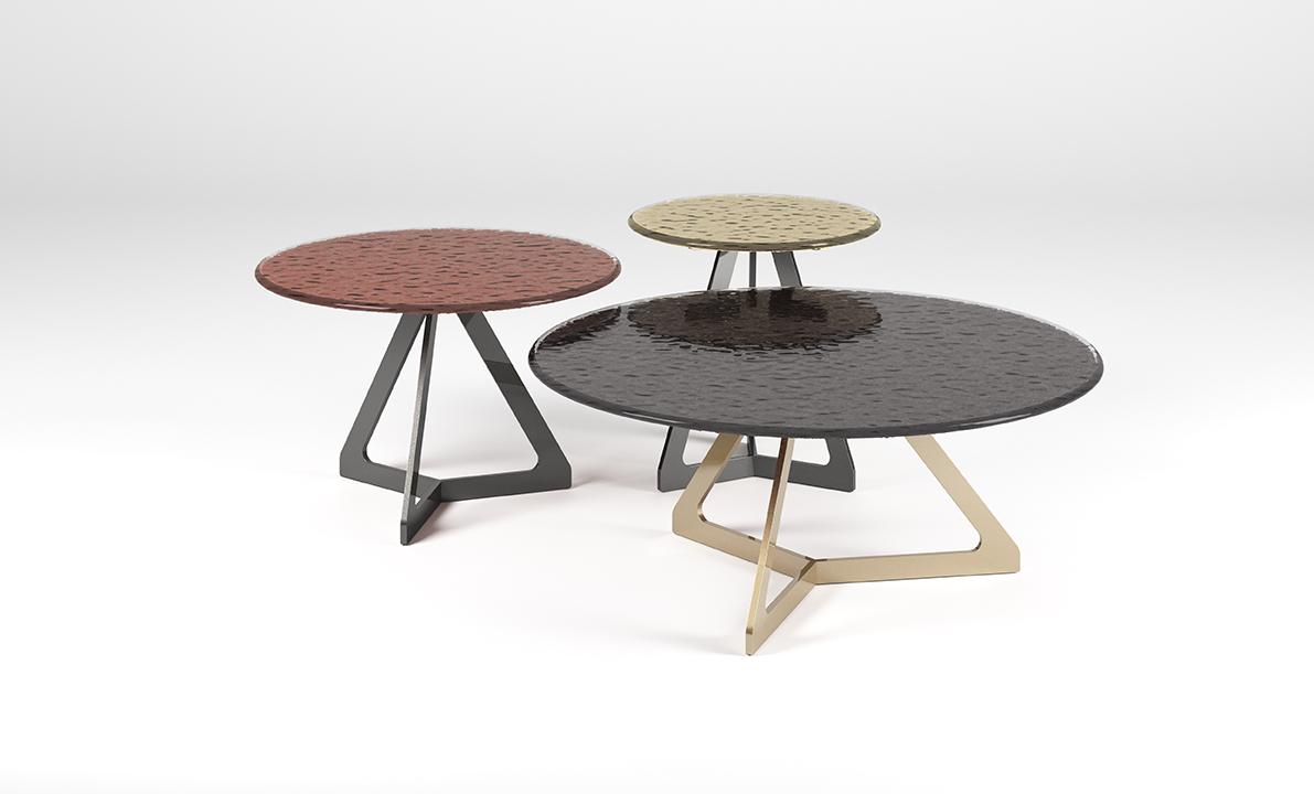 Nature in Full Display in Fiam's Latest Table Collection